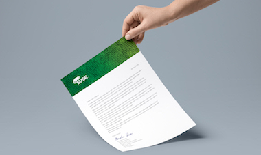SUSE dopis A4 Paper PSD MockUp_dopis 380x227